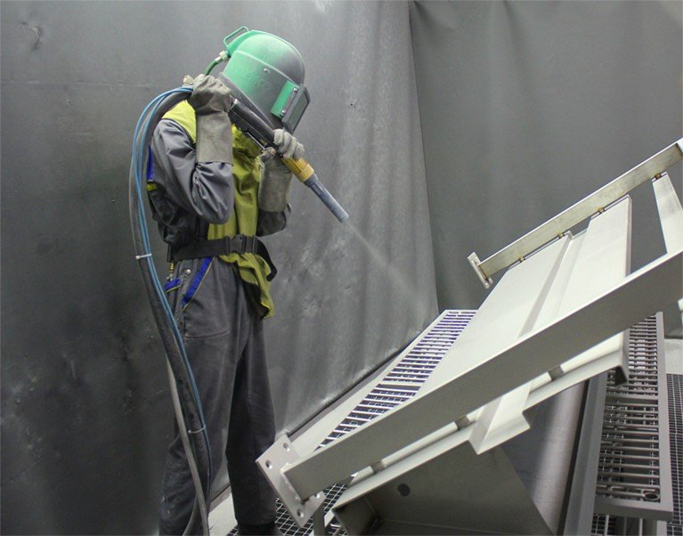Is Abrasive Blasting the Right Metal Finishing Solution for You Featured
